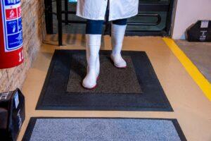 Pit Rubberized flooring
